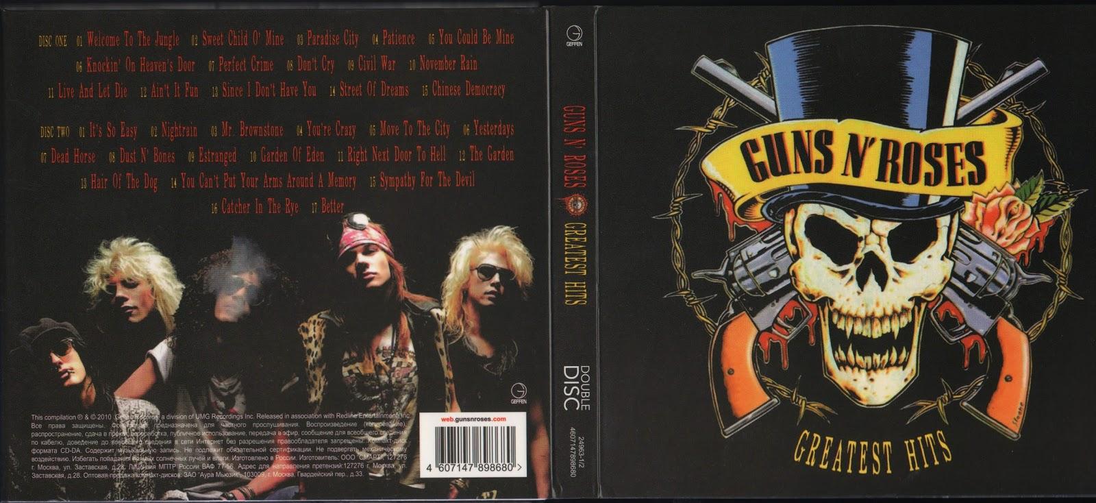 Guns N' Roses - Greatest Hits [2010] 320 kbps