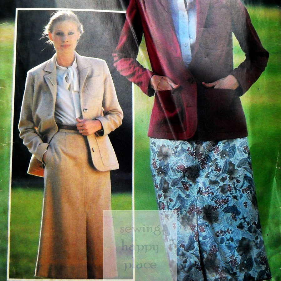 70s western shirts and wide leg pants the sewinghappyplace vintage 70s sewing pattern jacket and skirt see and sew simplified constructionbutterick 6401 available here jeuxipadfo Images