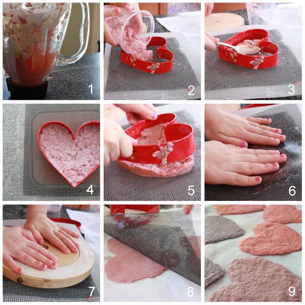 Handmade Paper Valentine's