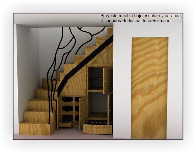 Herrer a y carpinter a paran marzo 2012 - Muebles bajo escalera ...