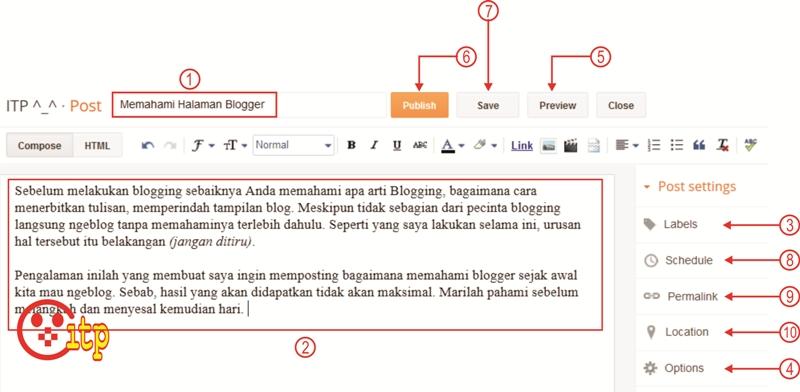 Cara Menulis Pada Blog