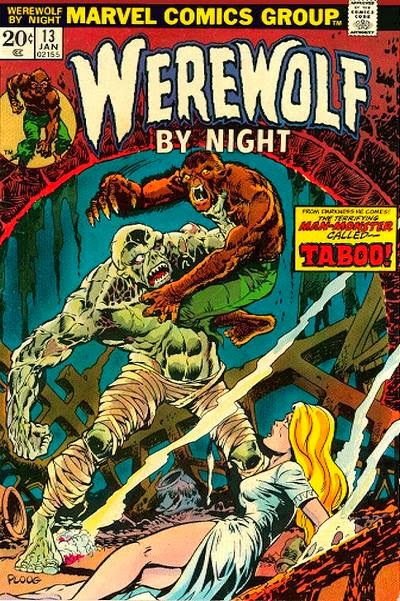 Werewolf by Night #13, Taboo