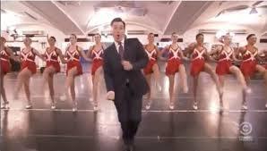 Stephen Colbert danse sur « Get Lucky » avec des Stars