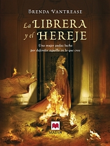 La librera y el hereje - Portada