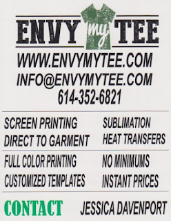 Envy My Tee Flyer