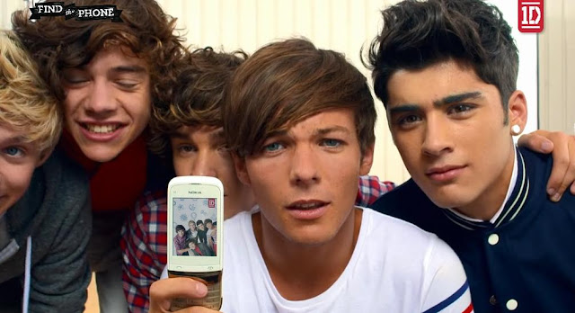 One direction number phone is right here
