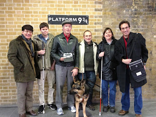 WayFun 2013 group at Platform 9 and three quarters
