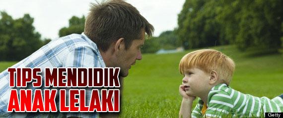 Tips Mendidik Anak Lelaki