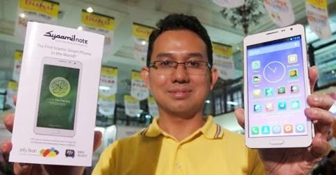 Smartphone dan Tablet Meyda Sefira