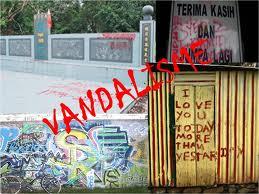 FALSAFAH DAN ETIKA GURU: VANDALISME