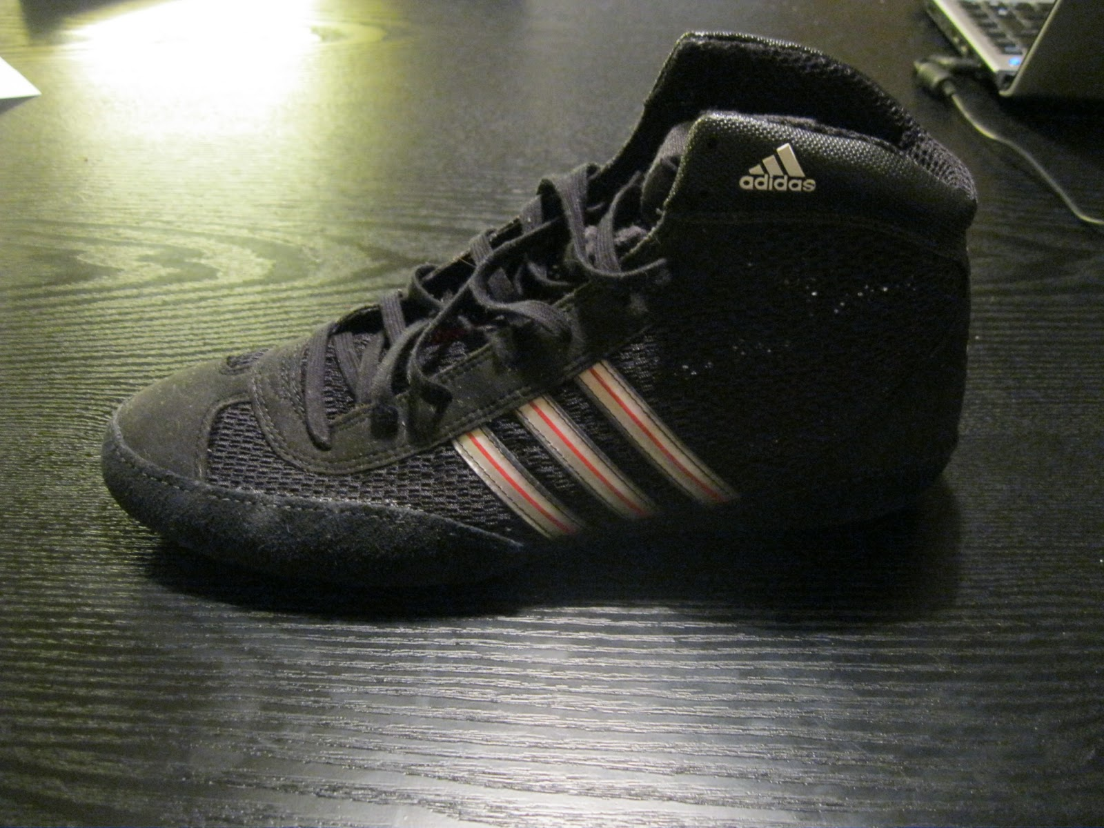 Web Jiu Jitsu: Gear Review: adidas Combat Speed 3 zapatos de lucha