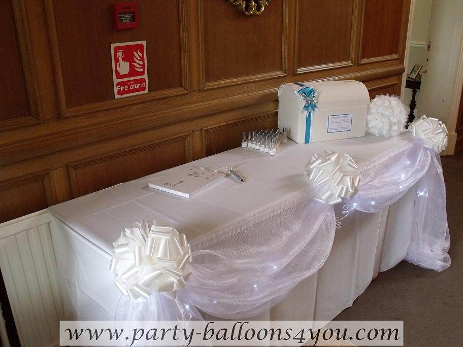 Party Balloons 4 You Wedding Decorations At Chewton Place Keynsham