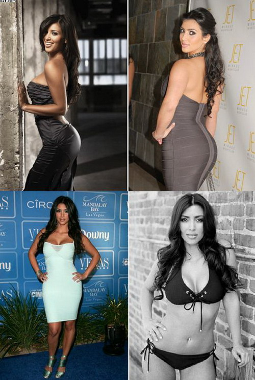 Kim Kardashian Weight Loss Before And After - Sopwer.com