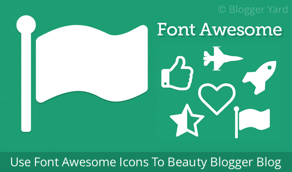 font awesome how to add icons