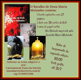 Baralho de Dona Maria Mulambo - Frete Grátis