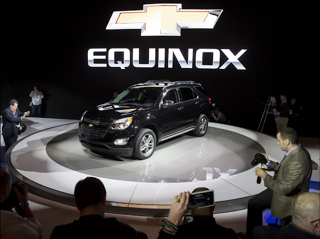2016 Chevy Equinox Will Come With A Slew Of New Updates And Features