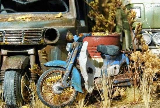 Xe Honda Cub Đồ Chơi mô hình