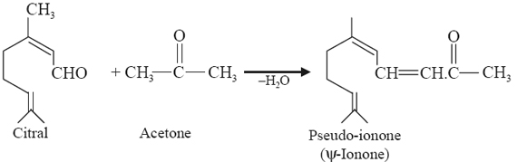 Pseudo- and α and β-Ionones