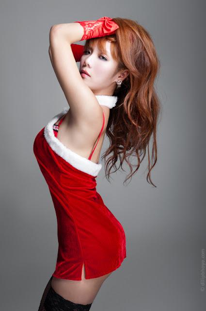santa girl costume