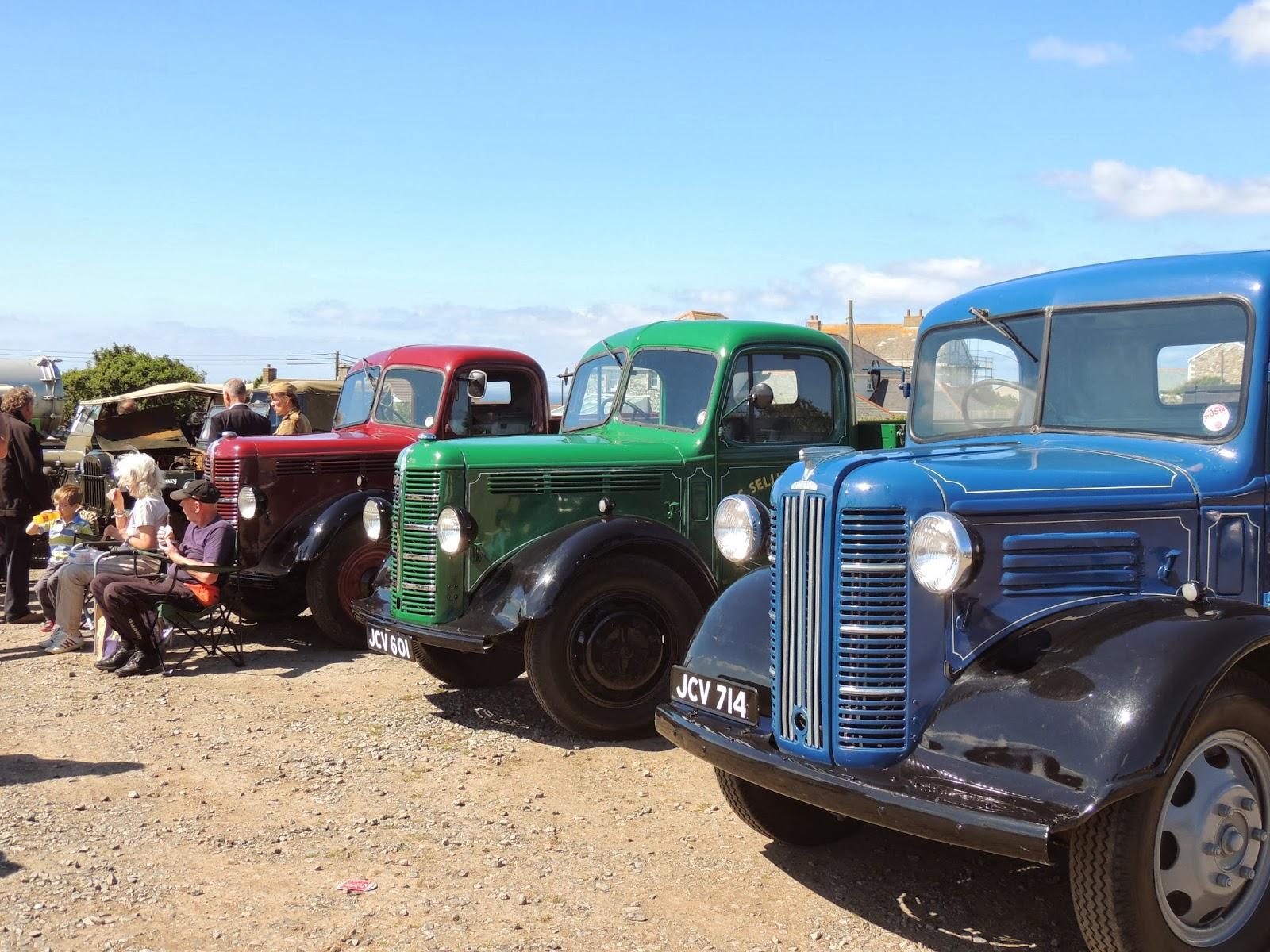 Vintage Cars - Cornwall