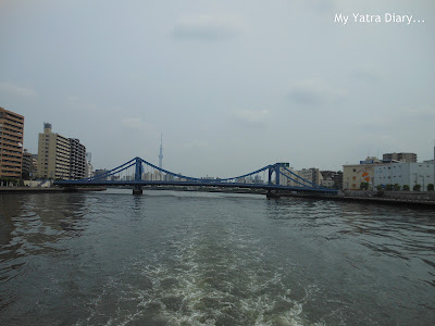 Enjoy the Sumida river cruise, Tokyo