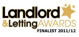 Landlord & Letting Awards Finalist  2011/12