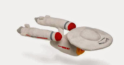 Peluche Nave Enterprise Star Trek