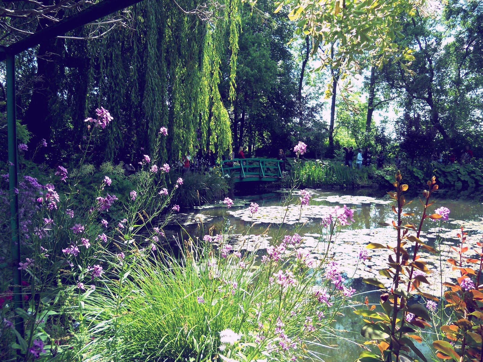 Lovely and vintage jardins de monet for Jardines monet