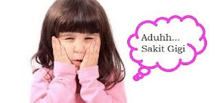 Obat Sakit Gigi Untuk Anak Anak Balita , 3 Tahun , 4 Tahun  , 5 Tahun  , 6 Tahun yang Alami