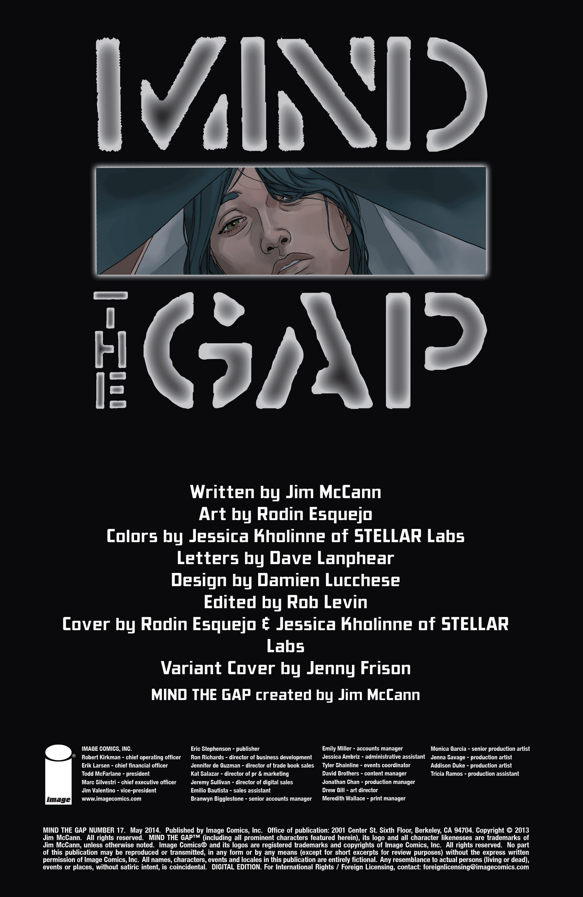 Read online Mind The Gap comic -  Issue #17 - 2