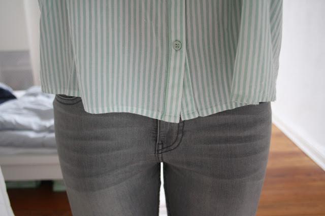 Jeans grau H&M