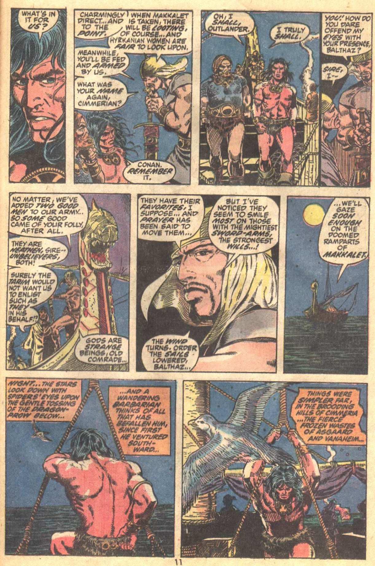 Conan the Barbarian (1970) Issue #19 #31 - English 9