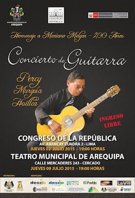 Concierto de guitarra arequipa