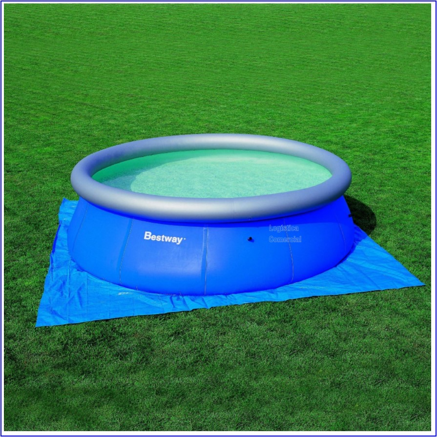 Piso lona tapiz 472 cm para piscinas inflables intex for Precios de piletas inflables intex