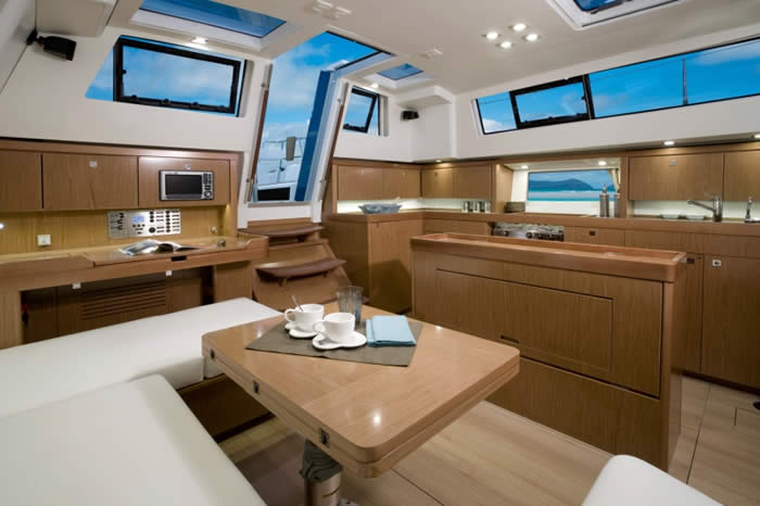 THIS IS THE PERFECT BOAT! Come check it out. (Salon of the Sense 43)