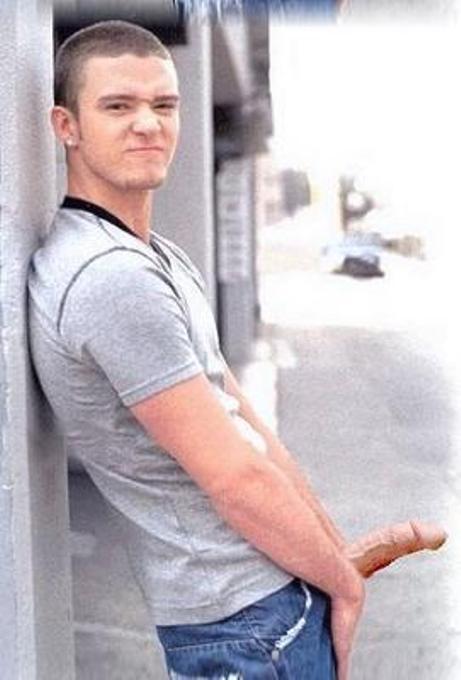 Nackte Bilder von Justin Timberlake