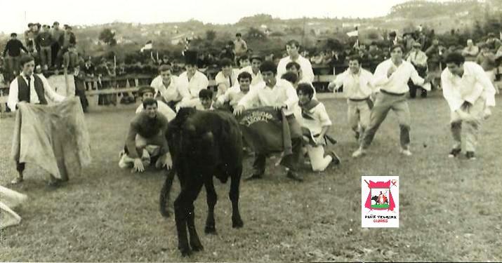 1966 Vaquillas en fiestas de la laboral de Gijon