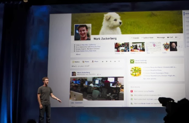Facebook Timeline is Compulsory for Users