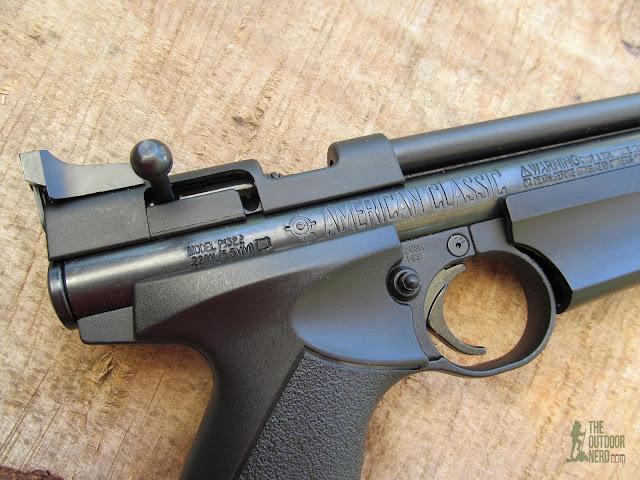 Crosman 1322 Air Pistol - Product View 2