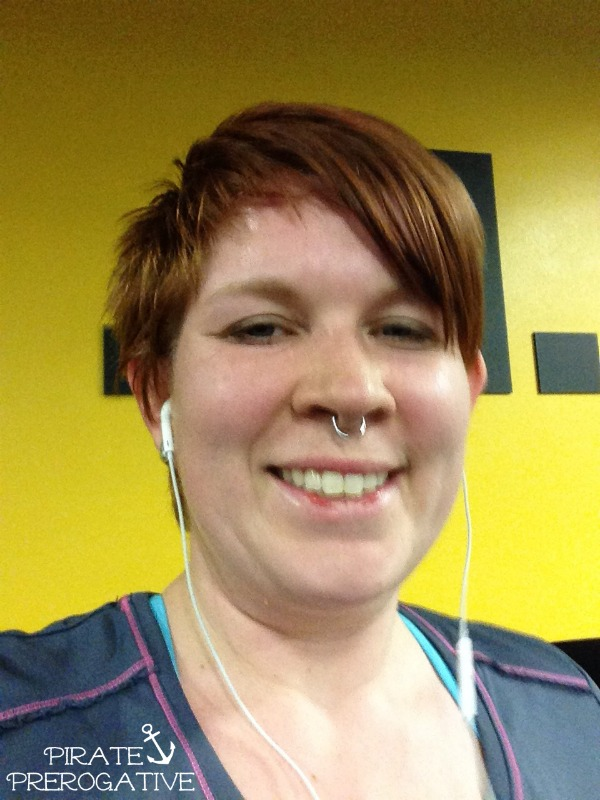 I ran a 5K! Sweaty selfies are in!