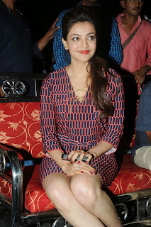 Kajal Agarwal Latest Pictures at Govindudu Andarivadele Movie Teaser Launch  8209.JPG