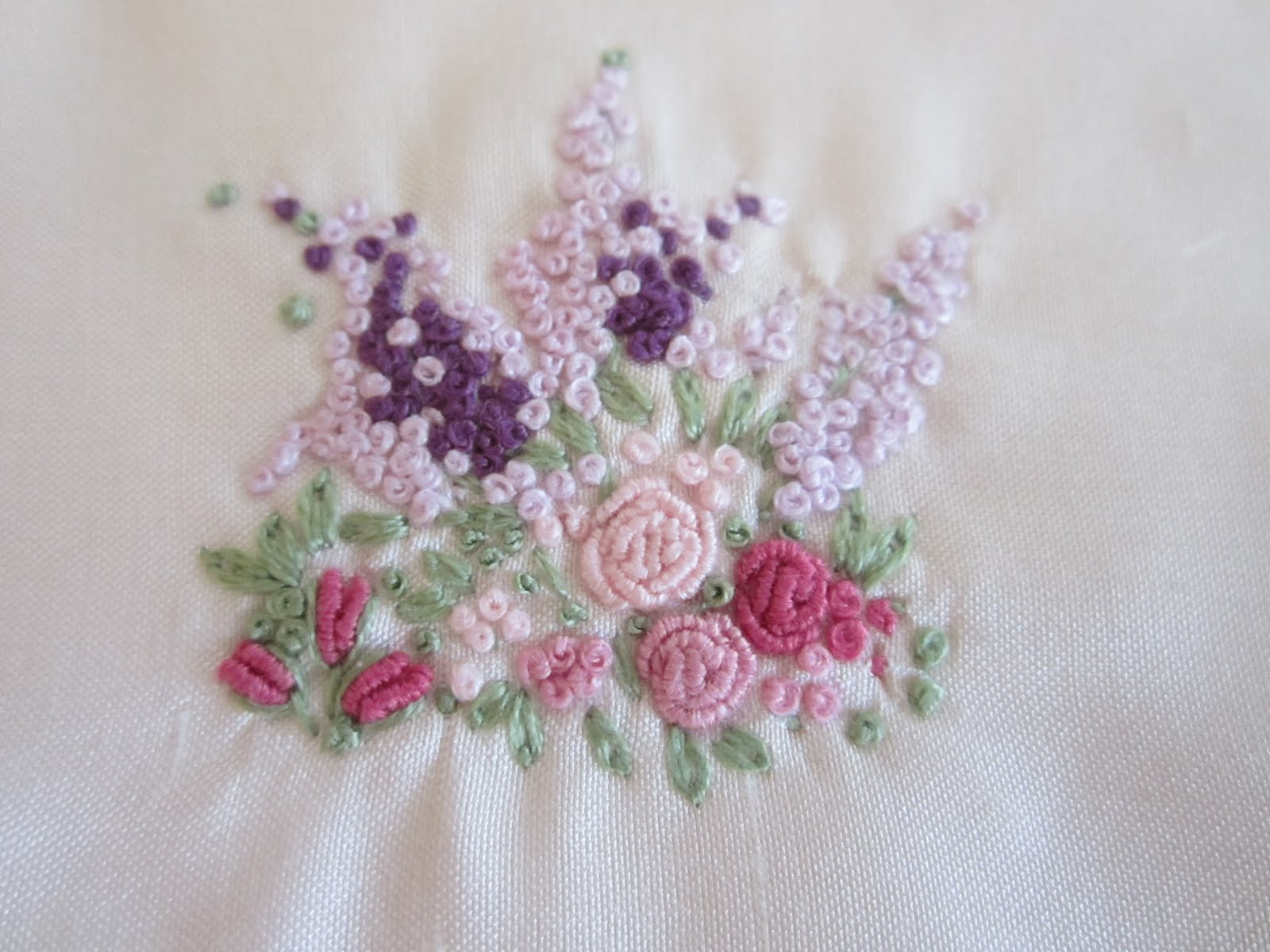 Hand embroidery on pinterest french knots