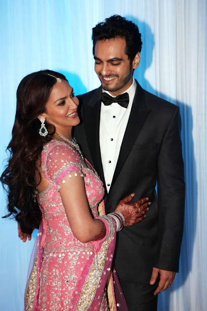 Esha Deol & Bharat Takhtani's Marriage Reception