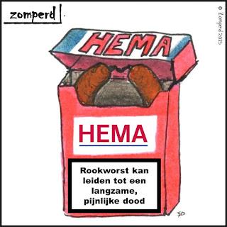 Zomperd - Rookworst