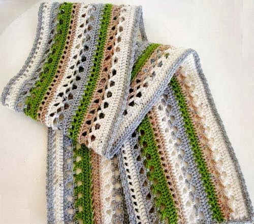 Stylish Easy Crochet: Crochet Scarf, Stole or Muffler ...