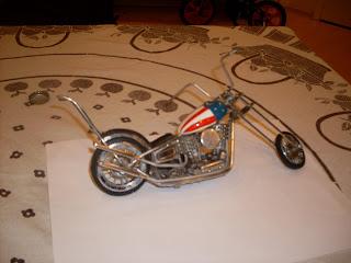EASY RIDER MOTORCYCLE - EASY RIDER PETER FONDA - EASY RIDER BIKE -Chopper Captain America / Harley Davidson Easy Rider - Easy Rider Bike - Easy Rider Motorcyle