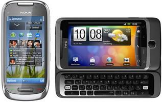 HTC Desire Z, Nokia C7 comes to Vodafone UK