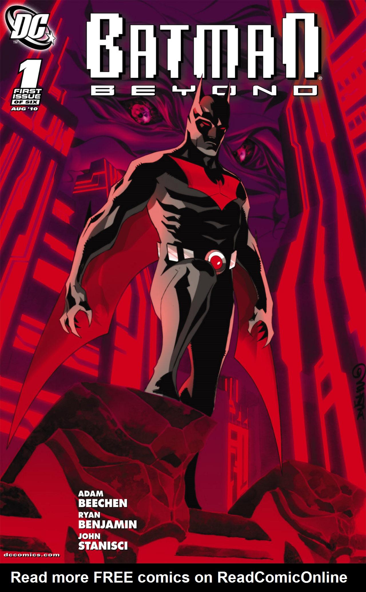 Batman Beyond (2010) Issue #1 #1 - English 1