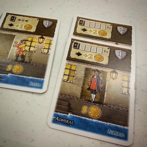 Port royal recensione giochi sul nostro tavolo for Come costruire un mazzo sul retro portico