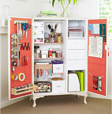 make your own craft cupboard
